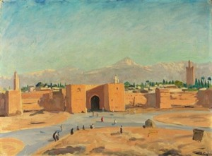 Churchills love affair with Marrakech seen through his paintings